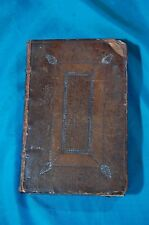 Living Temple by John Howe London 1675 Leatherbound Religion Christianity