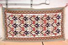 Caucasian Rug 72'x42'' Handwoven Kilim Vintage Rug Tribal Flat Weave area Carpet