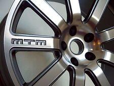 MTM Bimoto Felge 9,5x19 5x112 ET30 Titan-Poliert Rad Alufelge Audi VW Seat Skoda