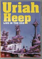 Uriah Heep DVD Live In The USA Brand New Sealed