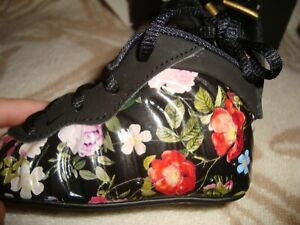 Nike Little Posite  Floral infant Shoes Size 3c new girls