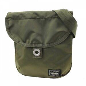 PORTER Yoshida Bag 690-17850 Compact Shoulder Bag FRAME Khaki Japan Tracking