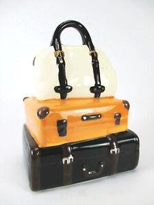 Piggy Bank Suitcase Travel Suitcase 20 CM Money Bank Luggage