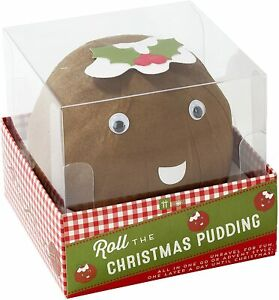 Talking Tables Pass The Parcel Christmas Pudding Wonderball Game for Kids