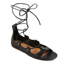 a10f9a8c8384 Mossimo Supply Company Women s Black Sandals Size 6