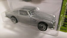 2014 Hot Wheels #200 HW Workshop 1963 ASTON MARTIN DB5 silver  007 James Bond