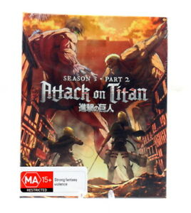 Attack on Titan - Season 3 Part 2 (Limited Edition) Blu-Ray BRAND NEW
