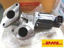 ISUZU D-MAX EGR VALVE ENGINE 4JJ1 3.0 + GASKET  GENUINE PARTS 2007-12