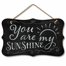 Chalk it Up Wood Sign---YOU ARE MY SUNSHINE---Small Plaque