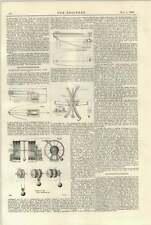 1897 Polarising Photo Cronograph 2 Submarine Telegraphy Wartime