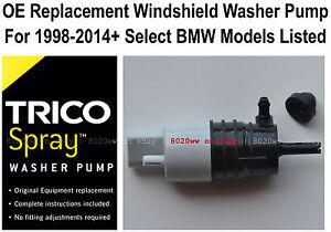 Windshield / Wiper Washer Fluid Pump (b) - Trico Spray 11-614