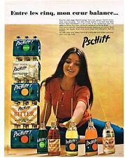 PUBLICITE  1970   PSCHITT  boissons soda