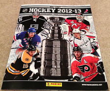 12-13 NEW 2012-13 AMERICAN USA Panini NHL Hockey Stickers Album Unused 72 Pages