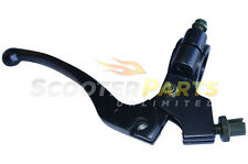 Black Clutch Lever Grip Parts 125ccc 250cc Honda CR125 CR250 Dirt Pit Moto Bike