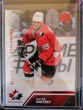 2013 Upper Deck Team Canada Red Exclusives - Wayne Gretzky (041/100) Oilers
