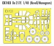 Eduard 1/48 Dornier Do 217E Pintura Máscara para Revell kit # EX103