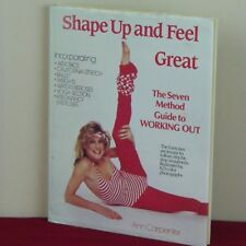 Shape Up and Feel Great Work Out Book Ann Carpenter Leotards Leg Warmers 1980's