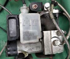 Peugeot Satelis 125 Executive ABS brake system pump levers lines pads calliper
