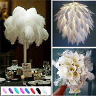 1pc/10pcs Wholesale High Quality Natural Ostrich Feathers Wedding Party 15-30cm