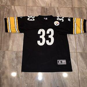 Pittsburgh Steelers Dermontti Dawson Jersey Youth XL Starter VTG