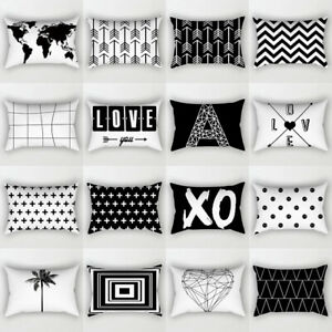 Fashion Geometric Pillowcase Cushion Cover Living Room Pillow Cover Rectangle