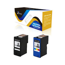 ABvolts Compatible M4640 Black + M4646 Color (Series 5) Ink for Dell 922 924 2PK