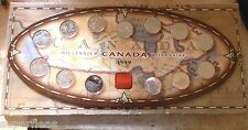 Canada 1999 Millennium 25c quarters /  13 different RCM assemblage - Mint coins