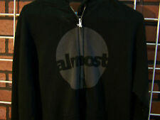 ALMOST SKATEBOARDS HOODED ZIP SWEATSHIRT - NEW! - SMALL - HOODIE SKATEBOARD