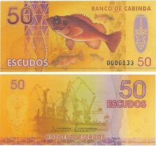 Banco de Cabinda (Angola) 50 Escudos 2013 NEUF UNC Fantasy Polymer Banknote