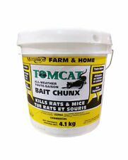 Motomco Rodent Tomcat All Weather Farm and Home rat mice poison bait 9lbs/4.1kg