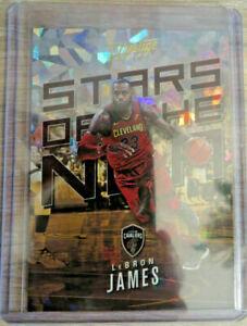🔥2017-18 Prestige Stars of the NBA Crystal #2 LeBron James Cavs Lakers Champ 🔥