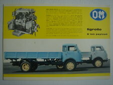 OM  Tigrotto 5 ton payload  leaflet / brochure / Prospektblatt (English)  1967.