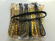 WHOLESALE JOBLOT PLAIT HAIR BANDS ( PACK OF 12 BROWN BLACK AND BLONDE )