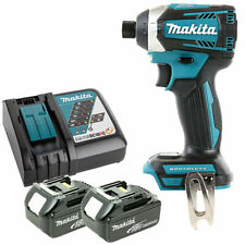 Makita DTD154 18V Brushless Impact Driver With 2 x 6.0Ah Batteries & Charger