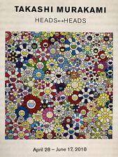 Takashi Murakami Heads Show Galerie Perrotin Pamphlet Flowers Enso New York 2018