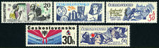 Czechoslovakia 2233-2237, MNH. Anniversaries. Arts Academy.Tech.University,1979