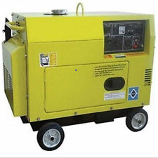Diesel Generator 6,500 Watts - Electric Start - 3 Gallons - 10 HP - 415cc Engine