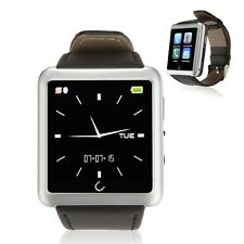 U10L Bluetooth Smart Watch Anti-theft Phone Mate for Andriod iPhone Silver New