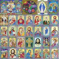 5D DIY Special Shaped Diamond Painting Religious Embroidery Kit Home Wall Decor