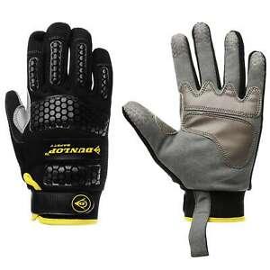 Dunlop Unisex Mechanic Gloves Workwear Textured