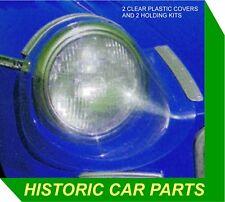 RALLYE COURSE projecteur couvre Protecteur Kit de montage pour MGC GT Roadster 1967-69