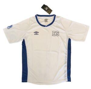 Umbro Men's El Salvador National Team Soccer Jersey White Size M