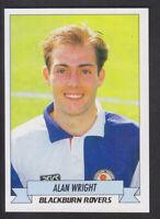 Panini - Football 93 - # 27 Alan Wright - Blackburn
