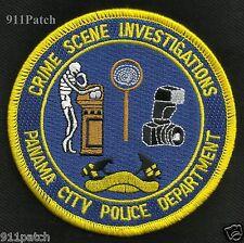 CSI PANAMA CITY, FL - CRIME SCENE INVESTIGATIONS POLICE Patch