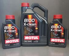 7 Liter Motul 8100 Motoröl 5W40 x-clean C3 vollsynthetisch #