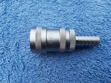 NITO CLICK Q/R FEMALE WITH NON RETURN X 1/2 HOSETAIL COMPATIBLE WITH HOZELOCK