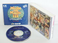 MIGHT AND MAGIC III 3 ref/bbc PC-Engine SCD PCE Grafx Japan Game pe