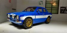 1970 Ford Escort Mk1 RS1600 Rally 1:24 Fast And Furious RS2000 Modèle car 99572
