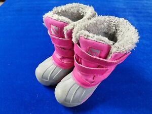 Infants Girls Snow Boots Campri Size 8