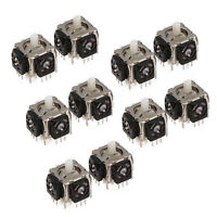 10Pcs Replacement 3D Analog Stick Axis Sensor 3Pin For Sony Playstation 3 PS3